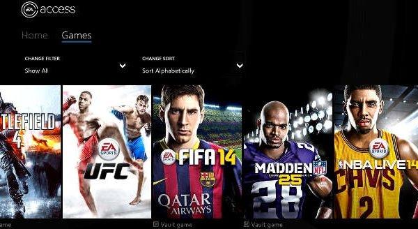 Xbox One EA Access