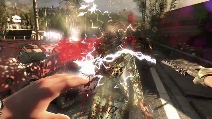 Dying Light Electric Cleaver