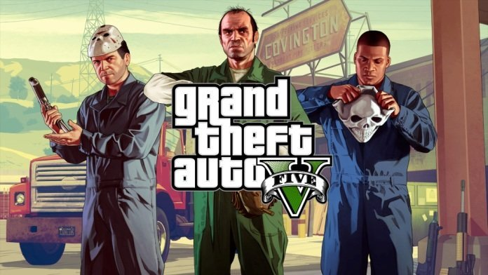 GTA V na PS4