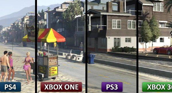 GTA V porownanie grafiki1