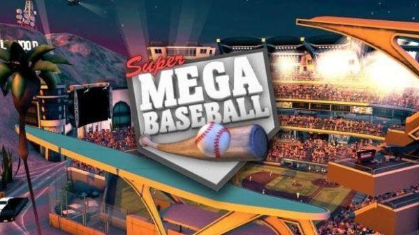 super mega baseball logo