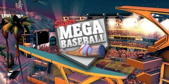 super mega baseball logo