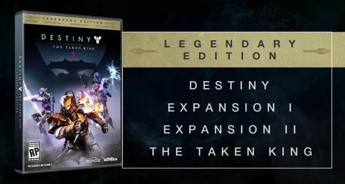 Znamy zawartość Destiny Legendary Edition
