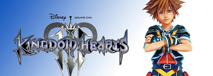 Kingdom hearts 3 banner