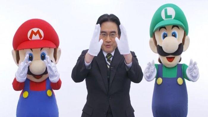 Satou Iwata prezes Nintendo smierc