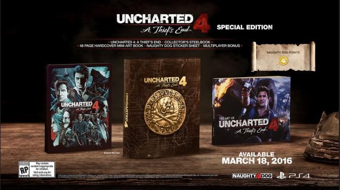 Uncharted 4 Edycja specjalna