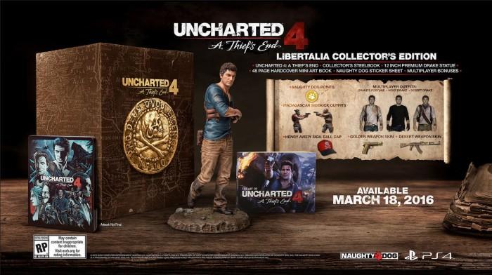 Uncharted 4: Thief's End Edycja Kolekcjonerksa