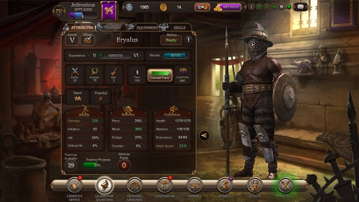 Gladiators Online Death Before Dishonor 4