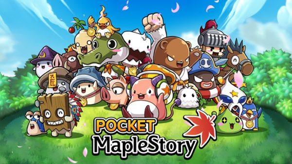 Pocket MapleStory Main Title