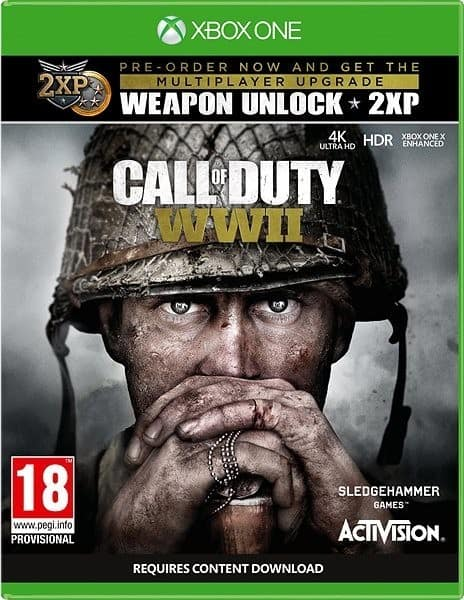 Call Of Duty Wwii Xbox One X