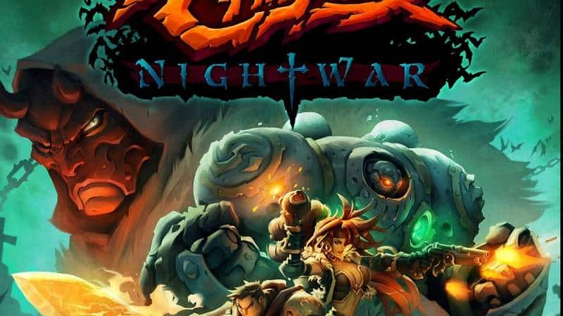 Battle Chasers Nightwar Logo