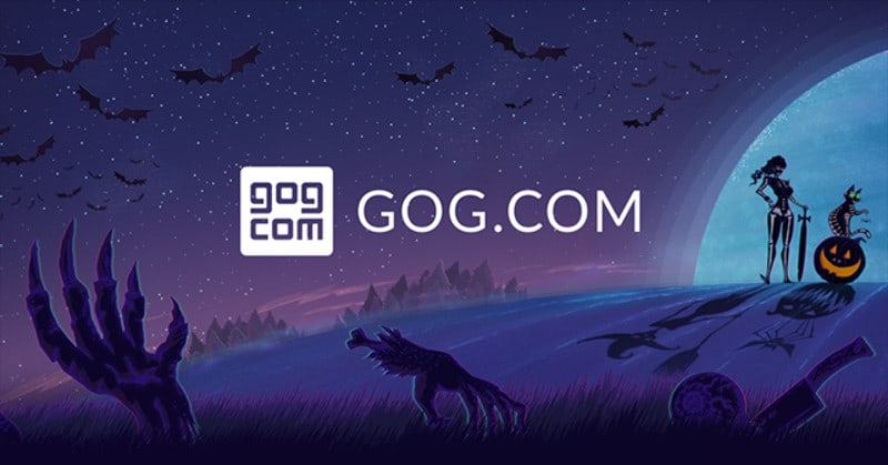 Gog.com Halloween 2017
