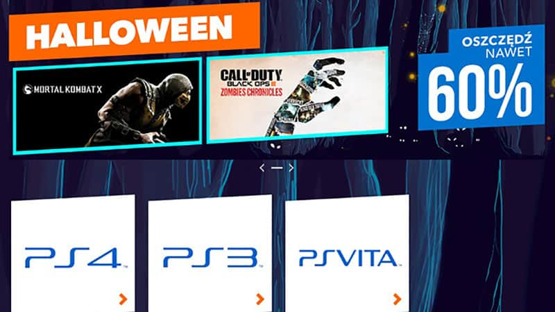 Halloween w Playstation Store