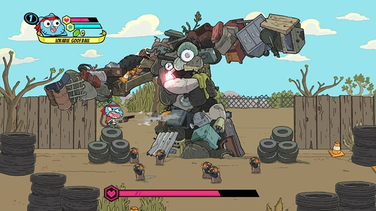 Cartoon Network Battle Crashers Nintendo Switch
