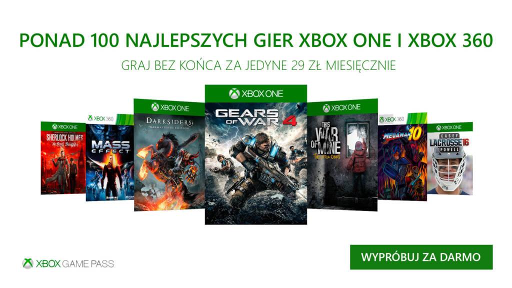 Xbox Game Pass Grudzień 2017