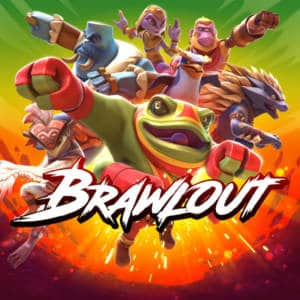 443444 Brawlout Nintendo Switch Front Cover