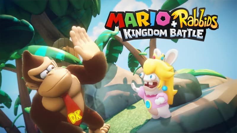Donkey Kong Trafi Do Mario + Rabbids Kingdom Battle