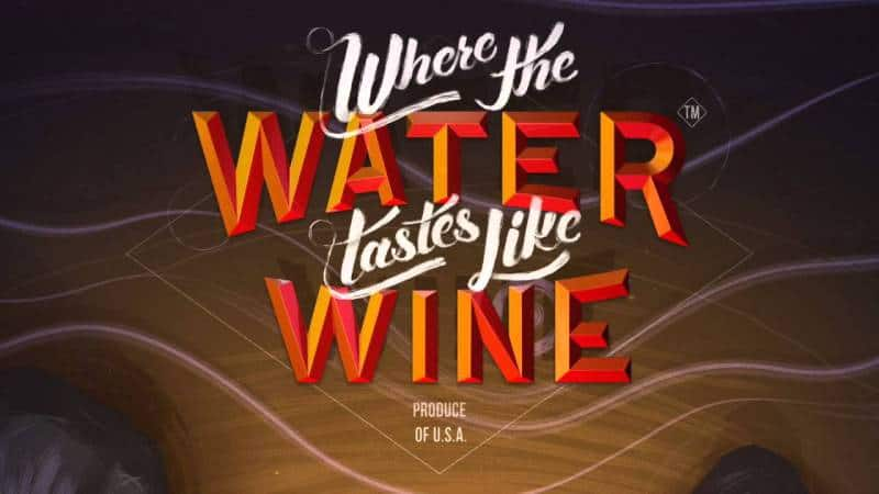 Where The Water Taste Like Wine Logo