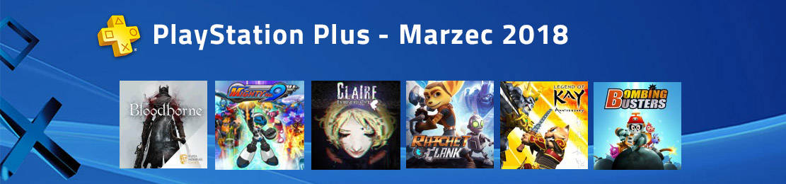 Playstation Plus Marzec