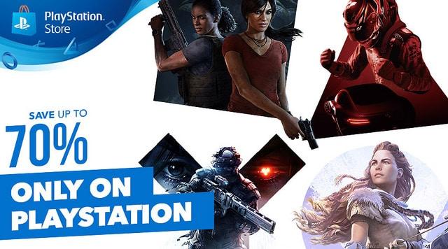 Promocja na gry Playstation 4