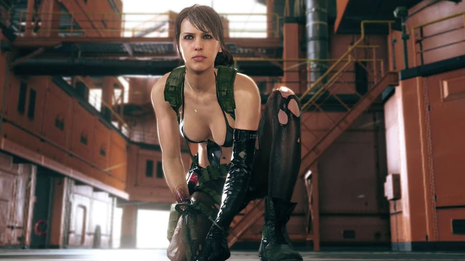 Quiet Metal Gear Solid 5