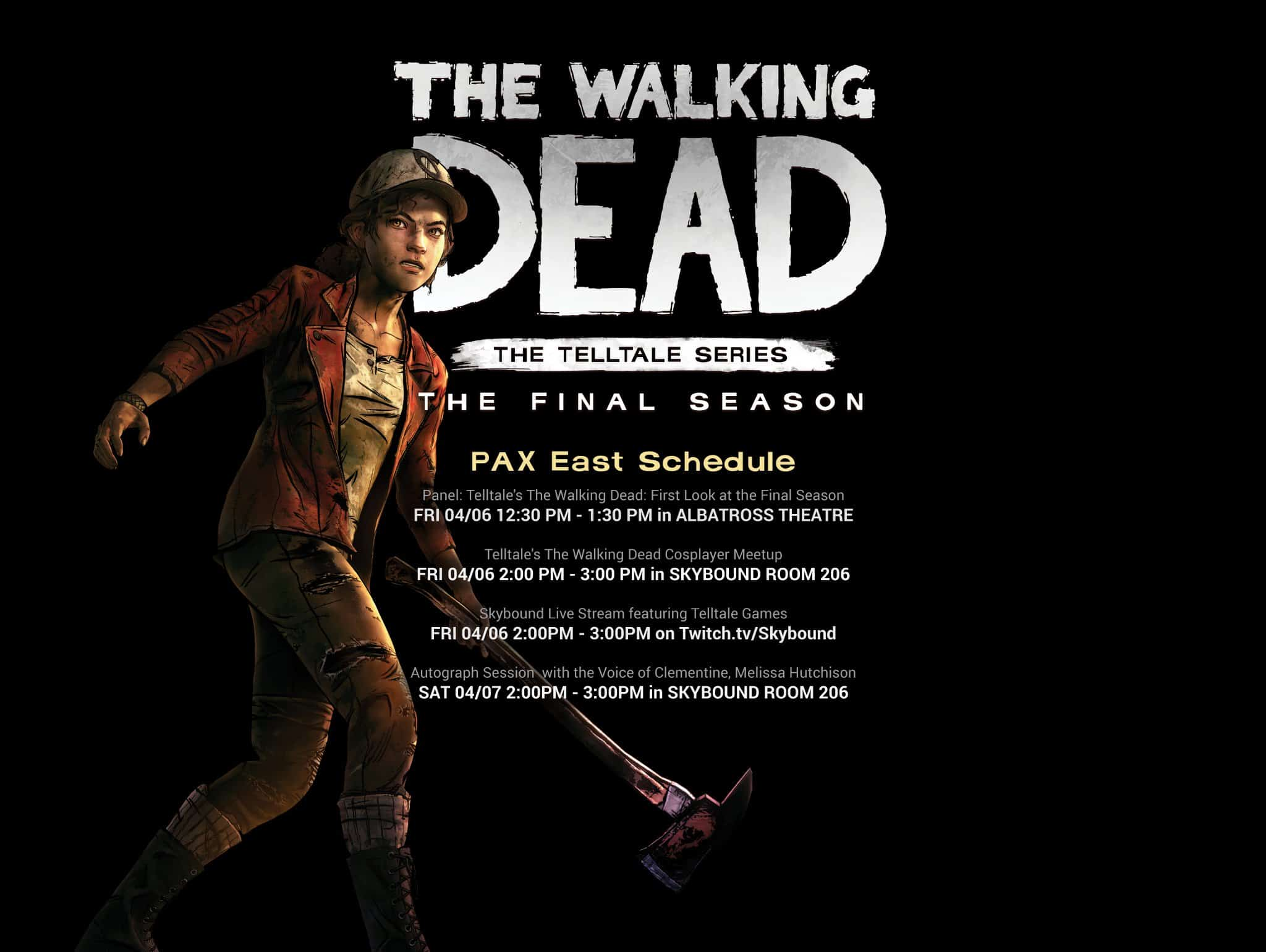 The Walking Dead The Final Season Pax East
