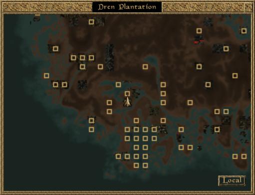 3. plantacja dren mapa morrowind 1