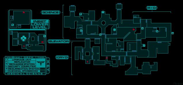 9. system schock 2 mapa