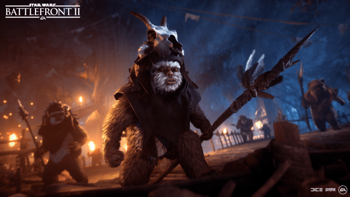Star Wars Battlefront 2 Ewoki
