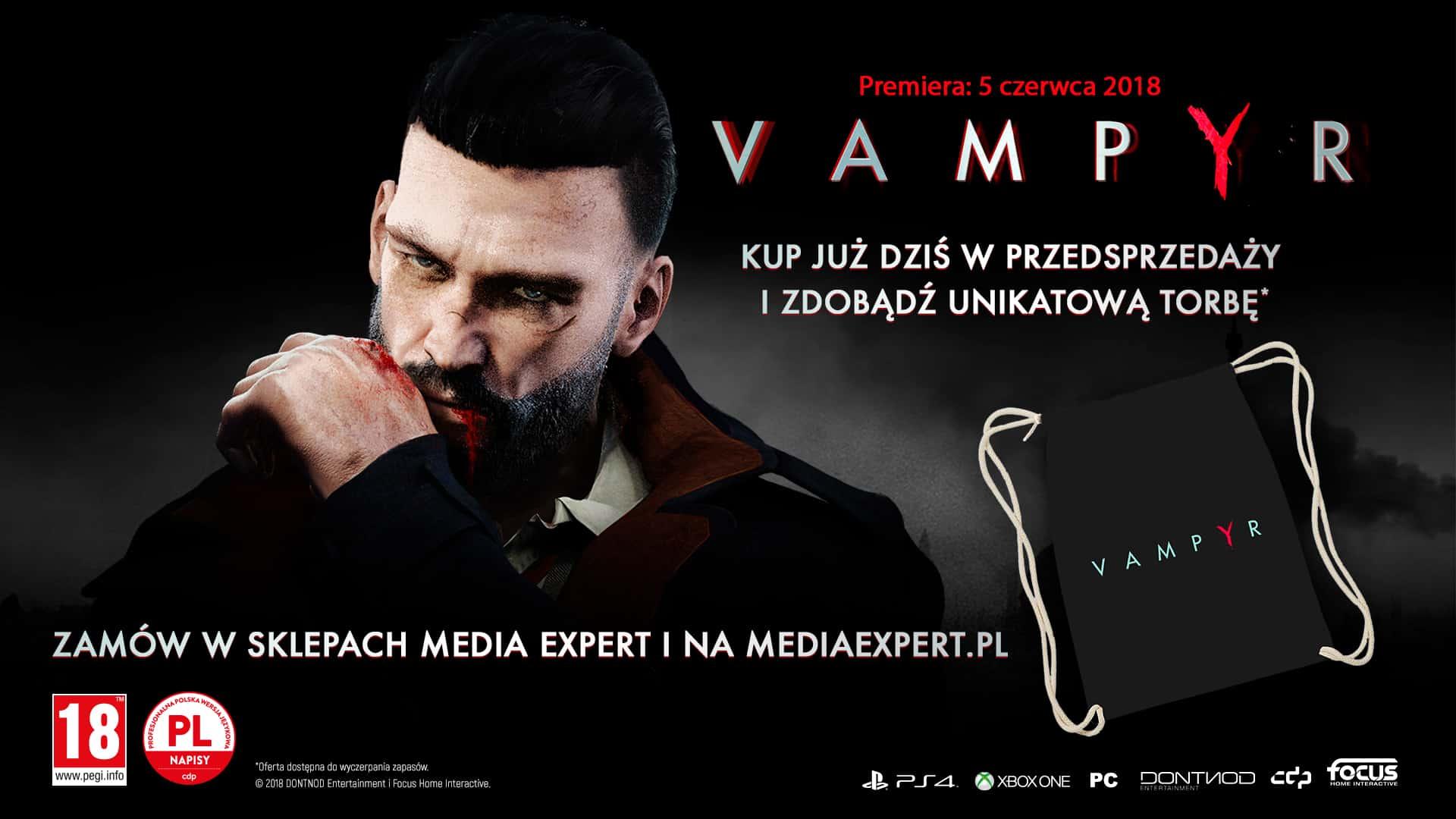 Vampyr Empik Media Expert