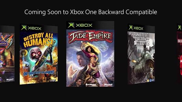 Xbox One wsteczna kompatybilność