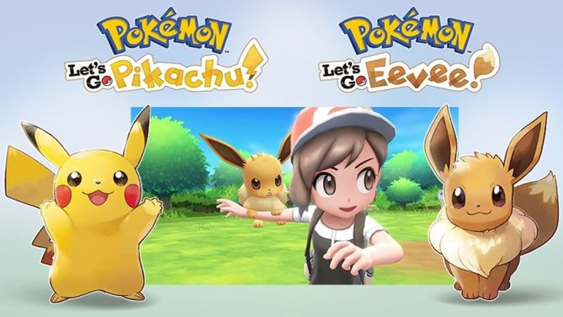 Pokémon Let's Go, Pikachu! Pokémon Let's Go, Eevee!