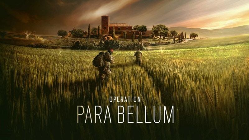 Rainbow Six Siege Operacja Para Bellum