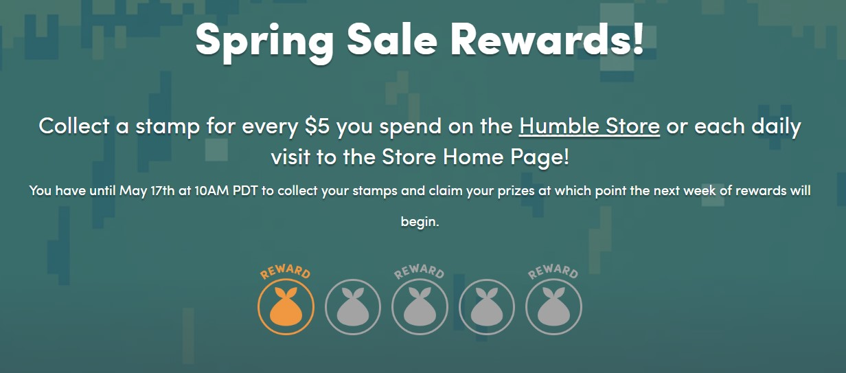 Spring Sale Rewards Humble Bundle