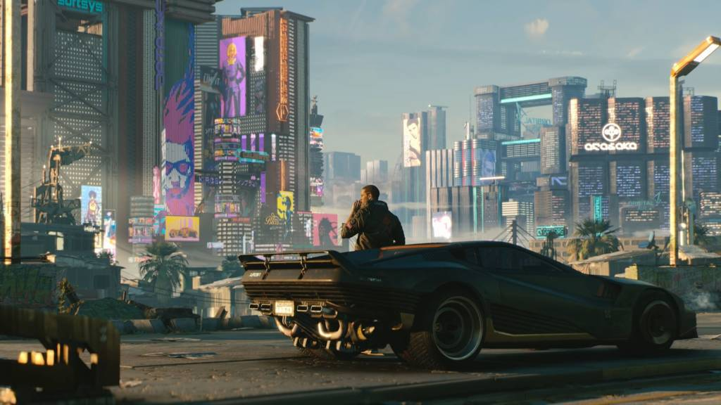 Cyberpunk 2077 Screen