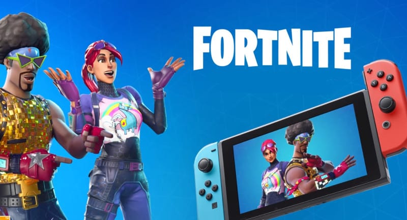 Fortnite Nintenod Switch
