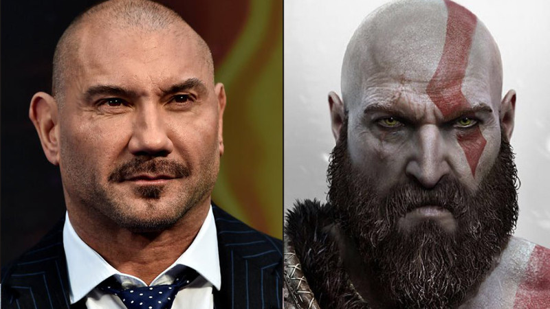 God Of War Kratos Dave Bautista