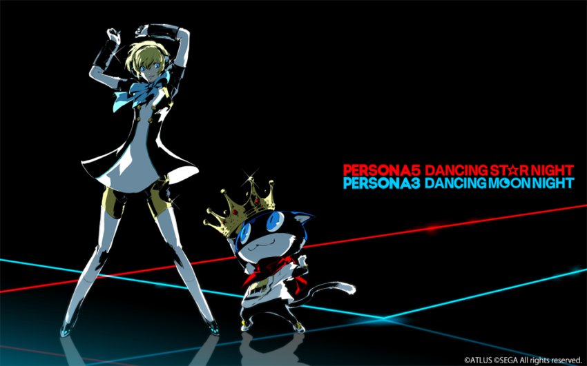 P3D P5D Illustration of Aigis and Morgana e1528302723574
