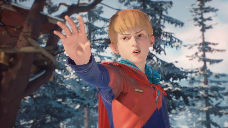 The Awesome Adventures Of Captain Spirit Art