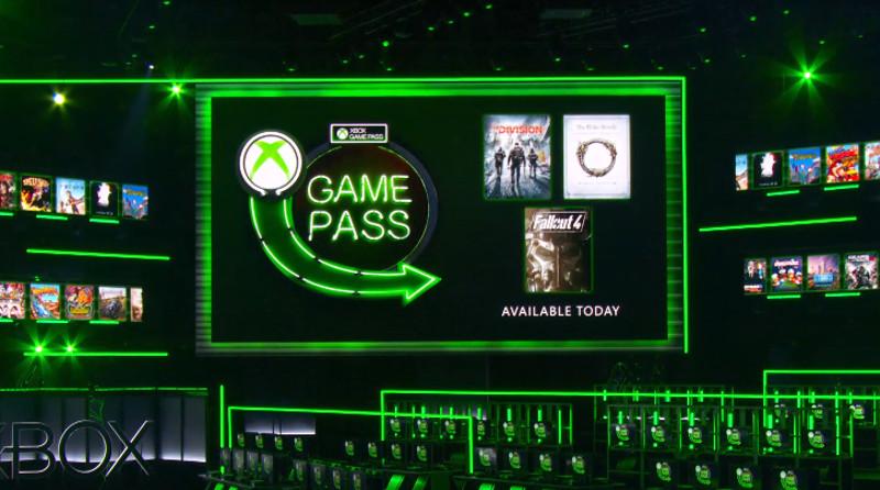 Xbox Game Pass E3 2018 1