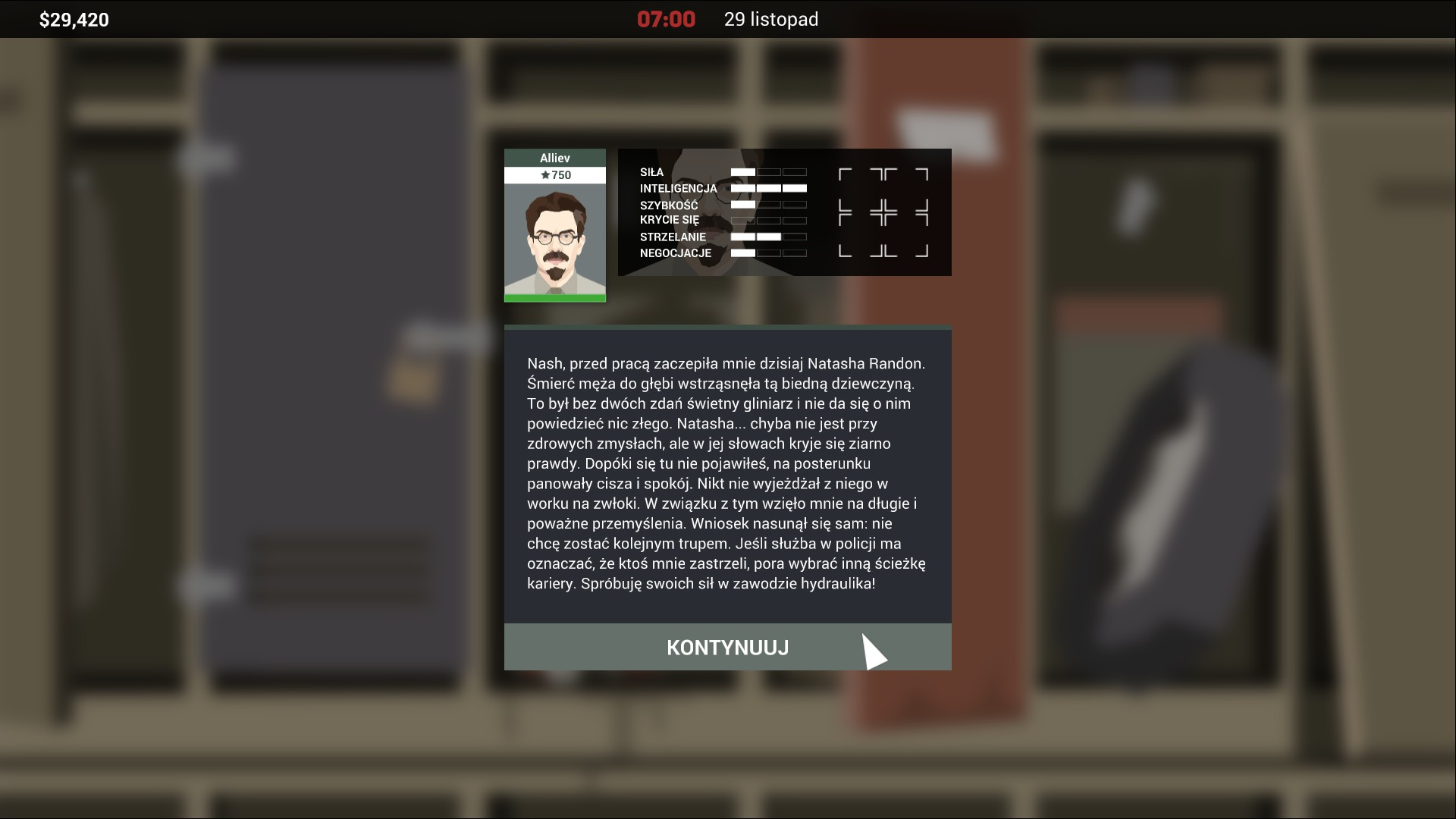 This is the Police 2 screen 2