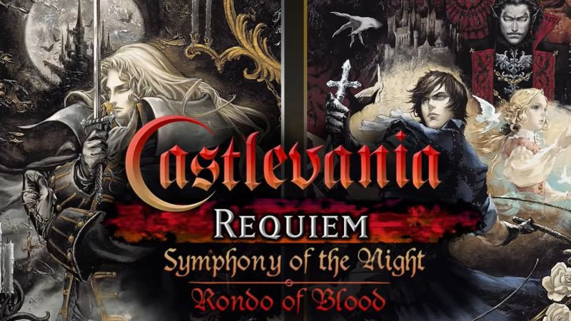 Castlevania Requiem Symphony Of The Night & Rondo Of Blood