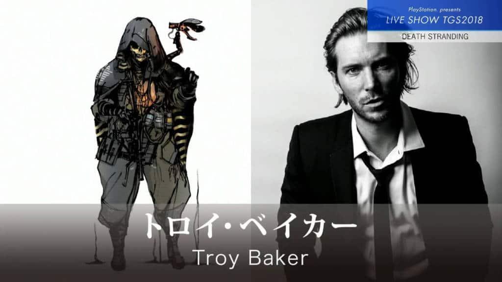 Death Stranding Tgs 2018 Troy Baker