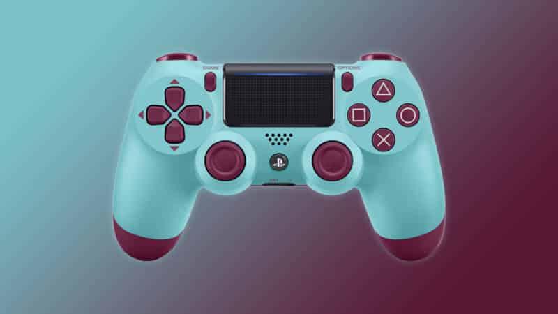 Dualshock 4 Berry Blue