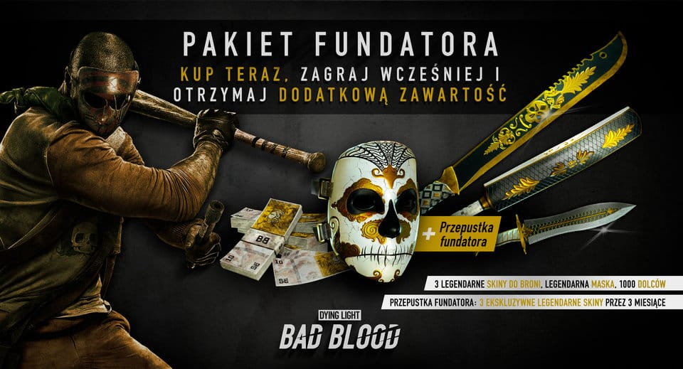 Dying Light Bad Blood Pakiet Fundatora