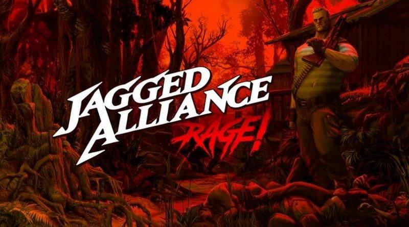 Jagged Alliance Rage Logo