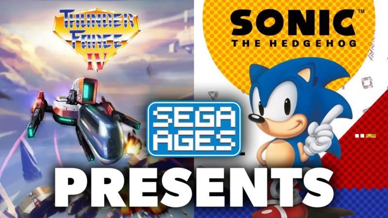 Sega Ages Sonic The Hedgehog