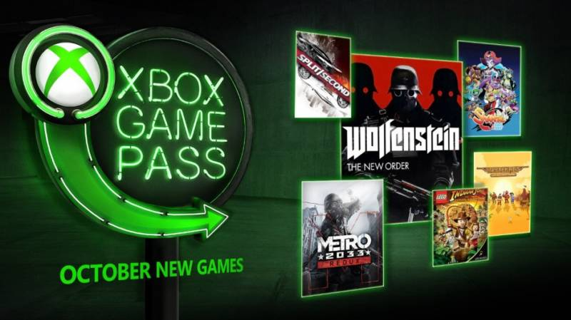 Xbox Game Pass Październik 2018