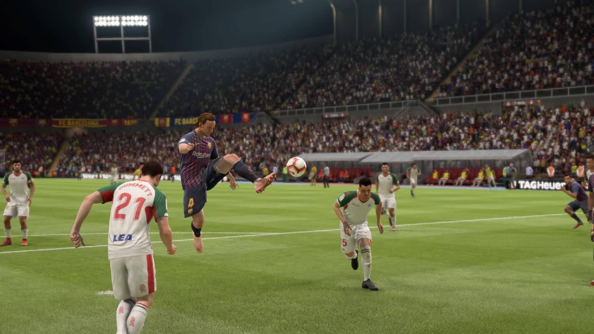 Fifa 19 Kariera (mecz) (w Menu)