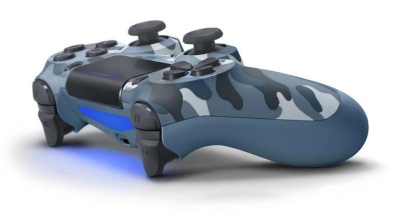 Dualshock 4 V2 Blue Camo